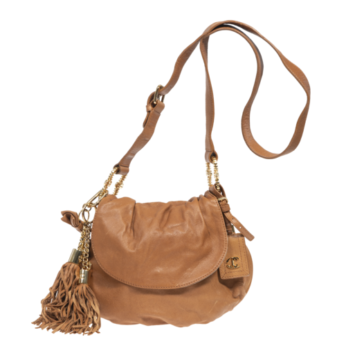 Roberto Cavalli Just Cavalli Brown Crossbody Bag