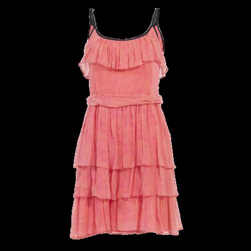 Sandro Paris Sandro Pink Leopard Print Dress